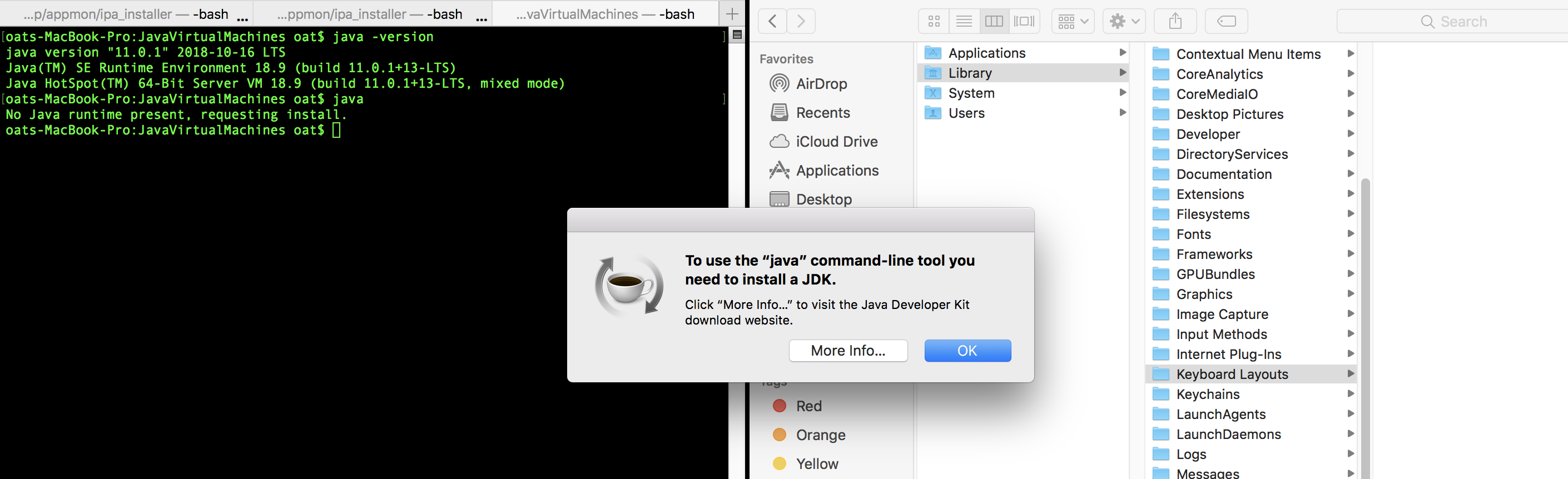 How to remove Java JDK on MacOs – ITSelectLab Experience