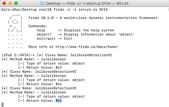 How to bypass the Jailbreak Detection using Frida