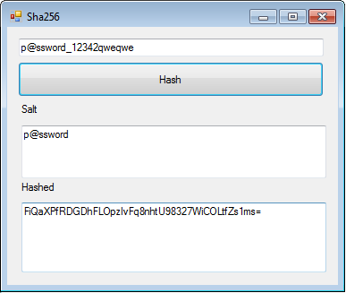 How to hash the string by Sha256 from VB net and Java – ITSelectLab